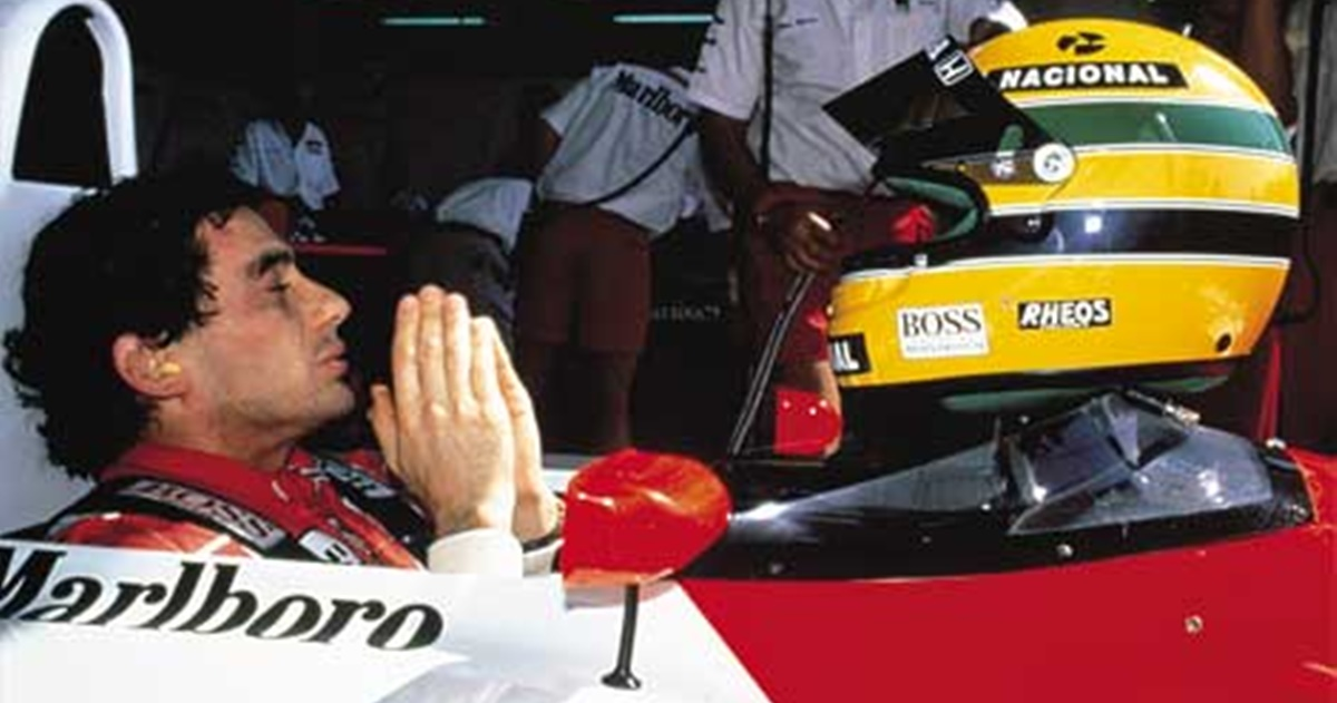 Pastora, coversão de Ayrton Senna (Reprodução)