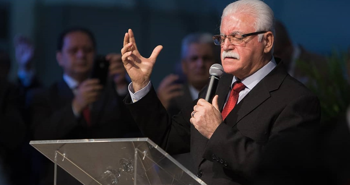 Pastor Josué Cipriano, AD Floripa (Reprodução)