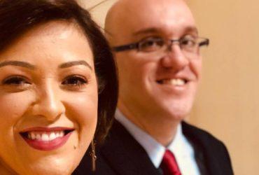 Missionária Fabiana e pastor Eduado AD Brás Bom Retiro (Reprodução)